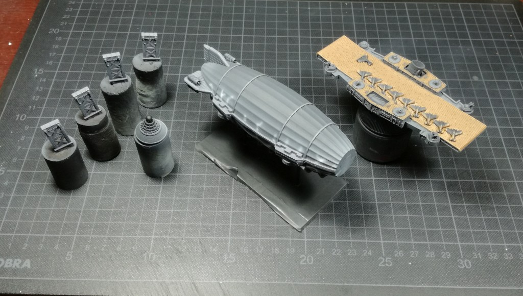 Imperium class sky fortress wip